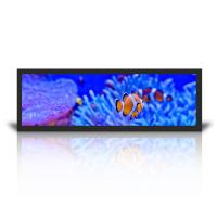 Wall Mount Stretched LCD Display 19.7 Inch Windows System Query HD Split Screen Manufactures