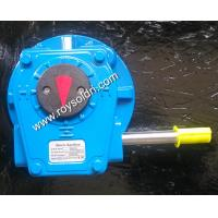 RHW10L single stage worm gearbox Manufactures