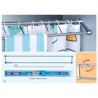 Double Stroke Shower curtain rods and towel bars, shower curtain bars, shower rods, Manufactures