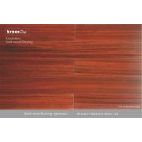 Eco friendly 100% recyclable Solid Wood Flooring , E0 Natural Floorings Manufactures