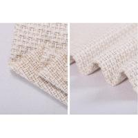 Creamy White Tweed Fancy Tweed Woven Wool Fabric 55% Acrylic 33% Cotton 12% Polyester Manufactures