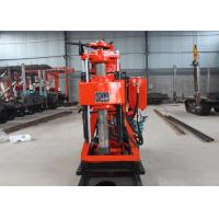 China Durable Water Borehole Drilling Machine / XY-2B Hydraulic Core Drilling Rig on sale