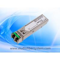 155M 1270~1620nm CWDM SFP transceiver module over 1 single mode fiber to 20~120KM Manufactures