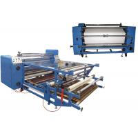 Auto Roll Fabric Heat Press Machine Sealed Oil Drum CE Certification Manufactures