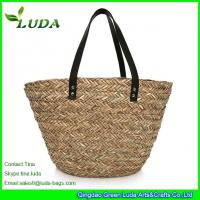 LUDA Plain Straw Handbags Seagrass Straw Bags 2014 Manufactures
