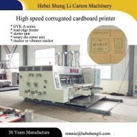 Highly Efficient Flexographic Box Printing Machine With 1 Year Warranty Manufactures