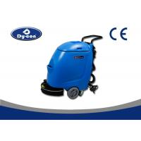 Mini Floor Scrubber Dryer Machine With Power Lines , Concrete Floor Cleaning Machine Manufactures