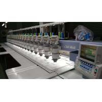China Electronic Commercial Computerized Embroidery Machine High Performance on sale