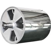Big Embossing Roller For Non - Woven Fabric Hot Rolling Machine Manufactures