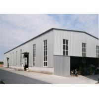 Quality Metal Outdoor Storage Buildings , Large Trussed Lightweight Steel Frame Building for sale