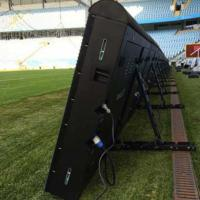 Sports Perimeter Led Display Advertising Boards P8/10/16 5500-8000 Nits With Fast Joint Design Manufactures