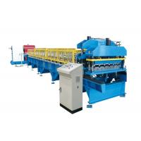 China Metal Roof Glazed Tile Roll Forming Machine Corrugated Steel Sheet BV / SGS on sale