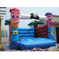 Reusable / Fireproof Inflatable Castle Bouncer Outdoor , OEM Manufactures