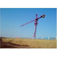 16ton Potain Tower Crane / Luffing Crane 7034 Stationary Attached with Self-climbing Cage & Pump Manufactures