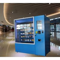 Automatic Operated Frozen Food Refrigerated Vending Machines Made From Reliable Steel Manufactures