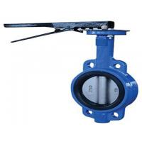 China 48 inch Pneumatic Flanged Butterfly Valve , DN50-1200 Wafer Type Butterfly Valve on sale
