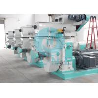 Cotton Stalk Ring Die Wood Pellet Machine With Automatic Lubrication System Manufactures