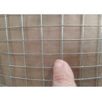 Hot - Dipped Galvanized Welded Wire Mesh For Animal Cage Structuring Manufactures