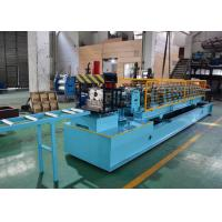 Post Cutting Post Punching CZ Purlin Roll Forming Machine , C Steel Frame Machine Manufactures