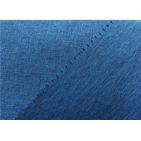 Twill Woven Coated Polyester Fabric , Two Tone Look Jacket Waterproof Breathable Fabric Manufactures