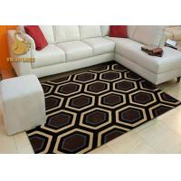 Durable Custom Size Outdoor Rugs , Large Area Rugs For Living Room Manufactures