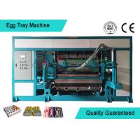 Automated Rotary Egg Tray / Fruit Tray Moulded Machine 4000pcs/h Manufactures