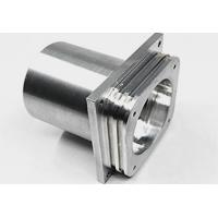 Custom Stainless steel machining round housing with nickel plating for GPS tracking system Manufactures