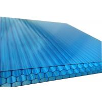 Multi Wall Honeycomb Polycarbonate Sheet Impact Resistance Rain Cover For Balcony Manufactures