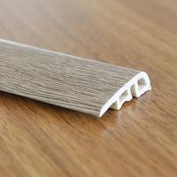 Waterproof Skirting PVC Flooring Accessories Eco Friendly Customized Thickness Manufactures