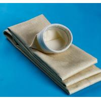 High Temperature Aramid Filter Bag 450GSM~550GSM For Cement Plant Manufactures