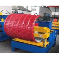 PLC Control Roof Pipe Bending Machine Hydraulic With Adjustable Speed Manufactures