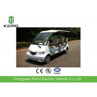 8 Seater Electric Car Max Speed 30km , Multi Passenger Sightseeing Tour Bus Manufactures