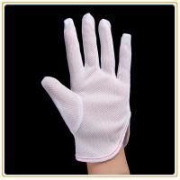 Anti-static Polyester Gloves PVC Dotted Gloves Manufactures