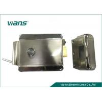 High Strengh Material Home door rim lock , stainless steel rim lock Opening Left Right Manufactures