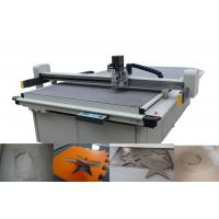 Low Layer Gasket Cutting Machines Liner Guide Driving System With Conveyor Belt Manufactures