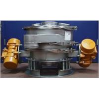 Double motors circular shaker sieve-for PVC powder Manufactures