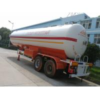 China factory sale best price Double axles 40.5cbm LPG tanker semi-trailer, 2019s CLW brand 17metric tons lpg gas tank trailer on sale