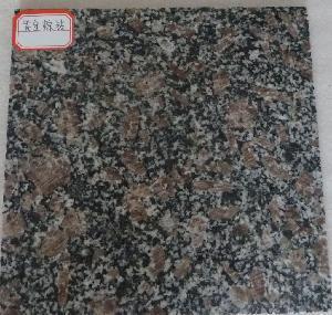 China Natural Zijin Brown Granite Tiles on sale