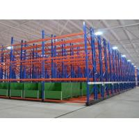 High Capacity Mobile Racking Storage Systems Space Saving CE Certification Manufactures
