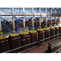 China Electric Liquid Oil Bottle Filling Machines / Laundry Determent Bottle Filling Equipment Unit 2L|5L for sale