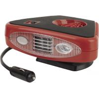 Triangle Red And Black Portable Car Heaters  2 In 1 Useful For Vhicle Manufactures