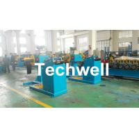 Rotary Double Head Mandrel Manual Uncoiler / Decoiler With Weight Capacity Of 3 / 5 Ton Manufactures