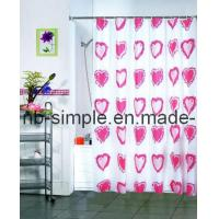 China Love Heart Shower Curtain (SC5004) on sale