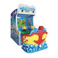 China Ticket Out Video Arcade Machines Water Shooting Game With 47 Inch LCD Screen on sale