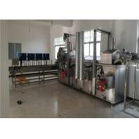 High Pressure Spray Vegetable Washing Machine For Crayfish 2.5 Meters Long Manufactures