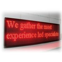 China Electronic programmable Outdoor LED Signs for business Red , Green color on sale