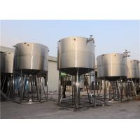 Steam Heating Or Water Cooling Tank / Fermentation Tank Buffer Tank Manufactures