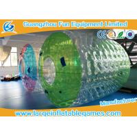 Water Roller Inflatable Wheel Ball , Inflatable Hamster Wheel for Humans Manufactures