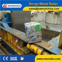 China Turn-out  hand valve control Scrap Metal Baler/Baling Press/Compactor equipment industry on sale