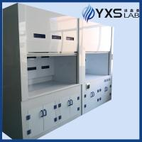 China Chemistry lab apparatuses PP fume extraction hoods on sale
